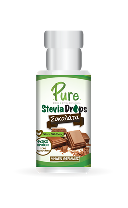 Picture of Υγρή Στέβια Με Γεύση Σοκολάτα Pure Stevia Drops Chocolate