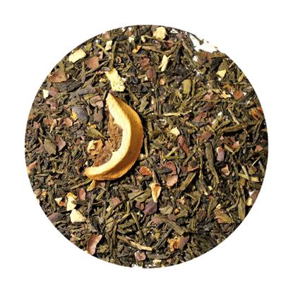 Picture of Πράσινο Τσάι Σοκολάτα Πορτοκάλι 100 γρ
