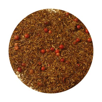 Picture of Κόκκινο Τσάι Rooibos Φράουλα - Ρόζ Πιπέρι 100 γρ