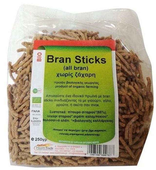 Picture of Bran Sticks Χωρίς Ζάχαρη 250γρ